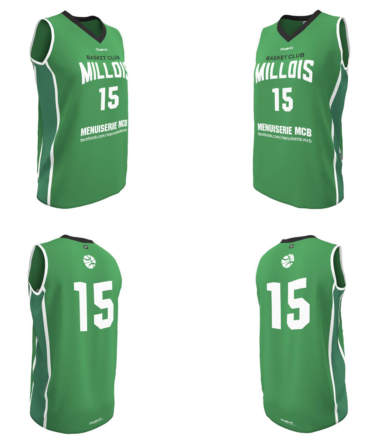 Maillots BCMillois - Seniors Féminines (SF1) -2016